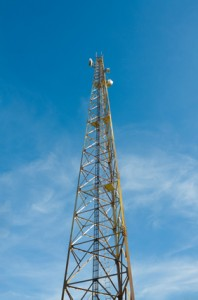 Radio telecommunications tower